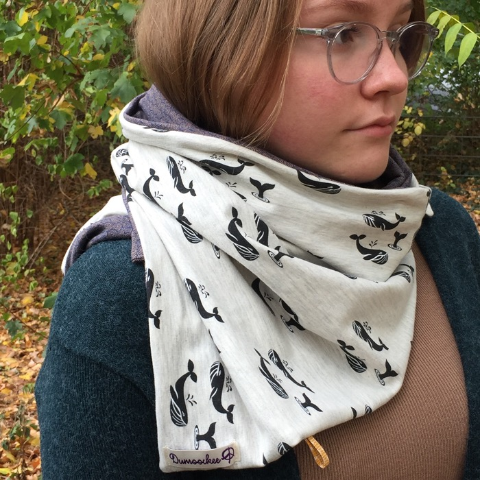 Whales Scarf. SOLD OUT